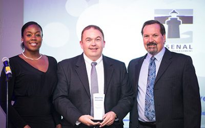 Arsenal wins 2016 Independent Captive Manager of the Year in US Captive Awards